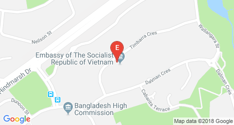 Embassy of Vietnam in Canberra, Australia