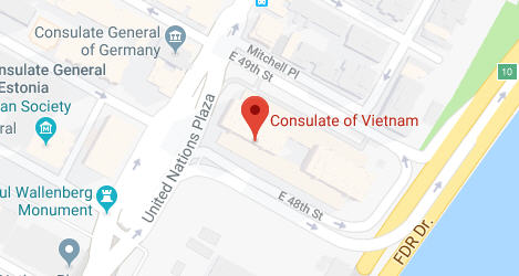 Vietnam Embassy in New York